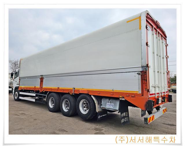 현대 트라고 엑시언트 14톤(6X4) 장축